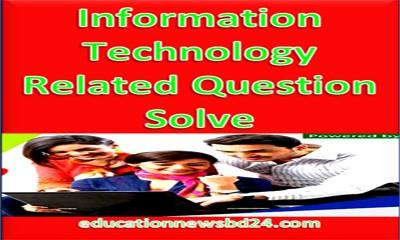 Information Technology Related Question Solve