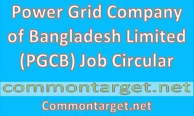 Power Grid Company Bangladesh Job Circular