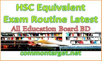 HSC DIBS Alim Vocational Same Standard Exam Routine 2020