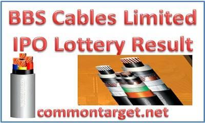 BBS Cables Prospectus