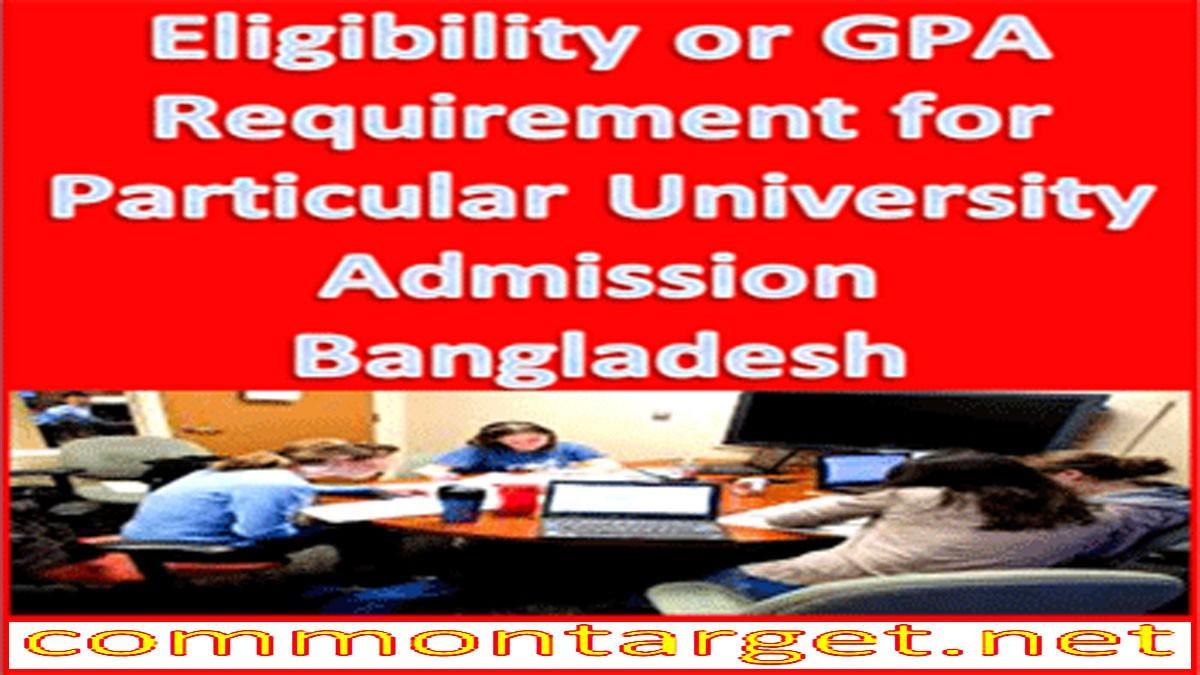 Eligibility Public University Admission